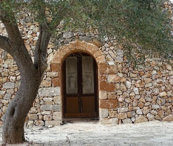 Haus mit Eingang